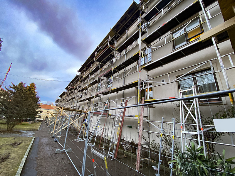 collets gate fasadestillas topp still stillas utleie