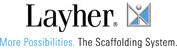 The Layher brand stands for safety, profitability and adherence to schedules.